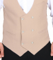 Preview: Vintage weste herren in beige