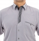Preview: Luxury designer shirt in gray