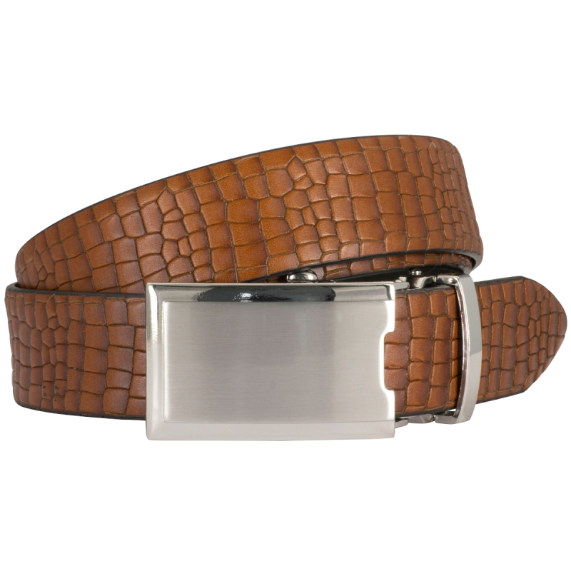 Raster belt in cognac