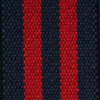 Suspenders navy-red