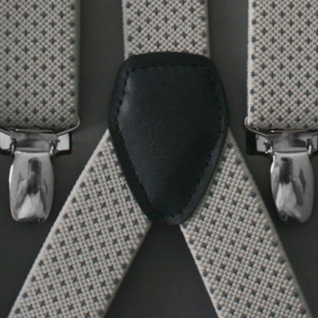 Suspenders with bow tie