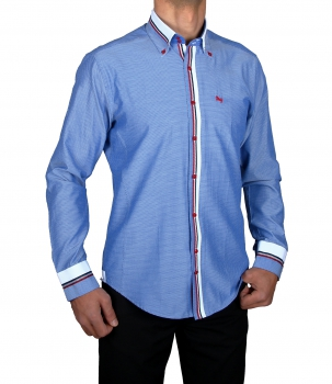 Clubwear-Freizeithemd-Button Shirt