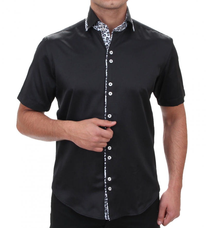 Designerhemd SLIM FIT Button-Down Haifischkragen