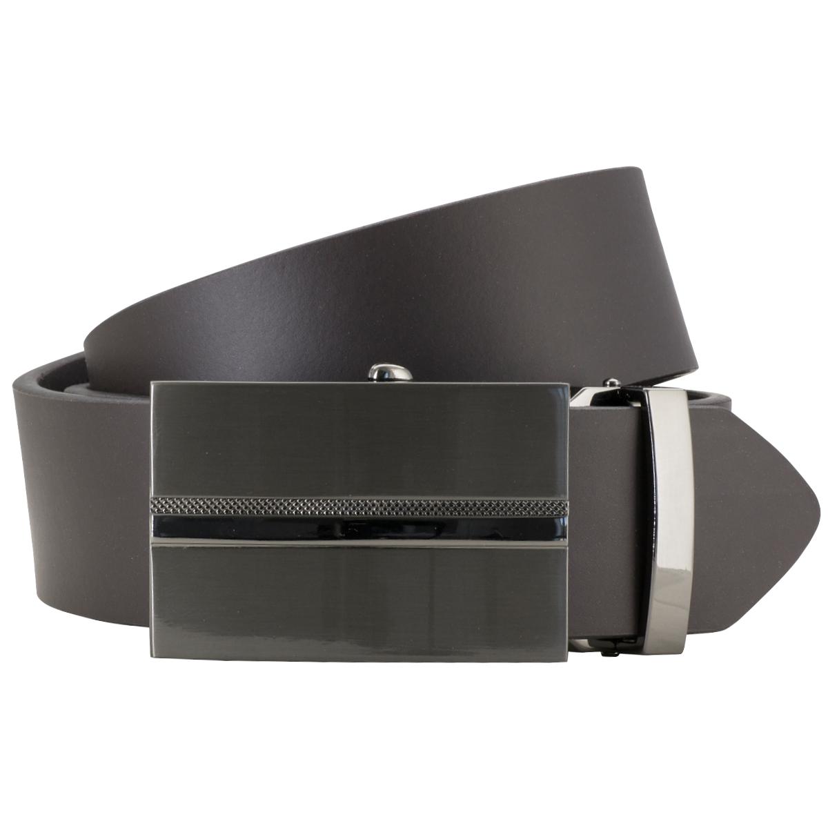 635ee87c8d2c5c Dunkelbraun Ledergürtel AUTOMATIK-Schließe stufenlos verstellbar, breite 40  mm. Rastergüertel in dunkelbraun · Rastergüertel in dunkelbraun