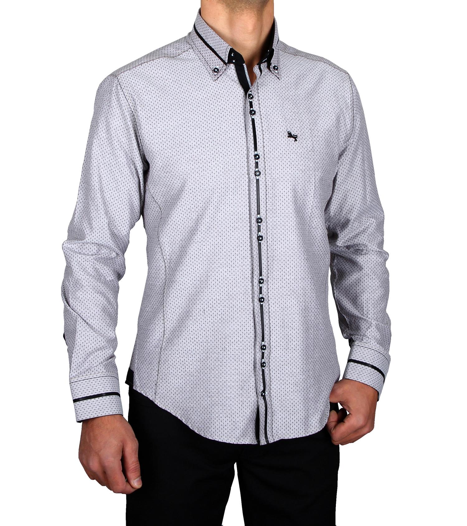 Hk Mandel Kreative Mode Fr Mnner Casual Shirt Button Shirt