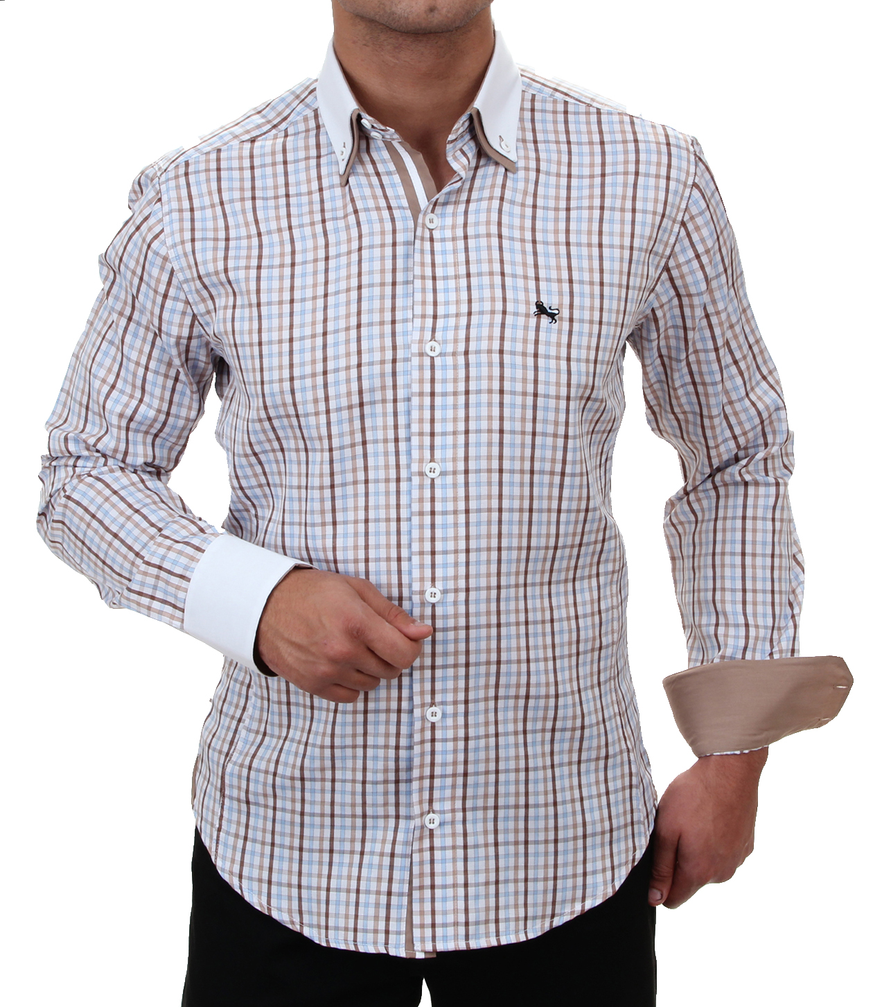 newest 9492f 5c160 H.K. Mandel Kreative Mode für Männer - Casual Herren Hemd ...