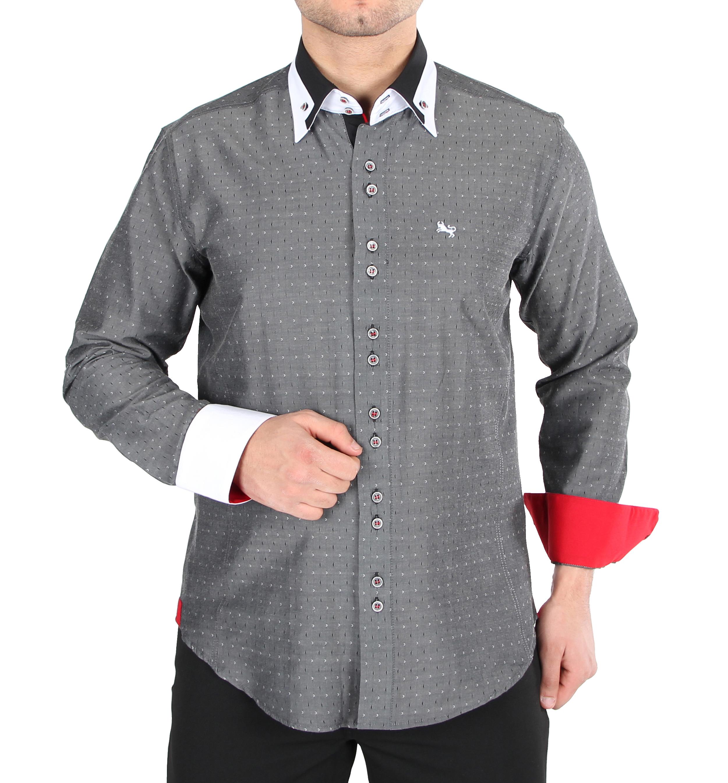 H.K. Mandel Kreative Mode für Männer - Slim Fit Fantasie Hemd hkmandel 1e1804c198