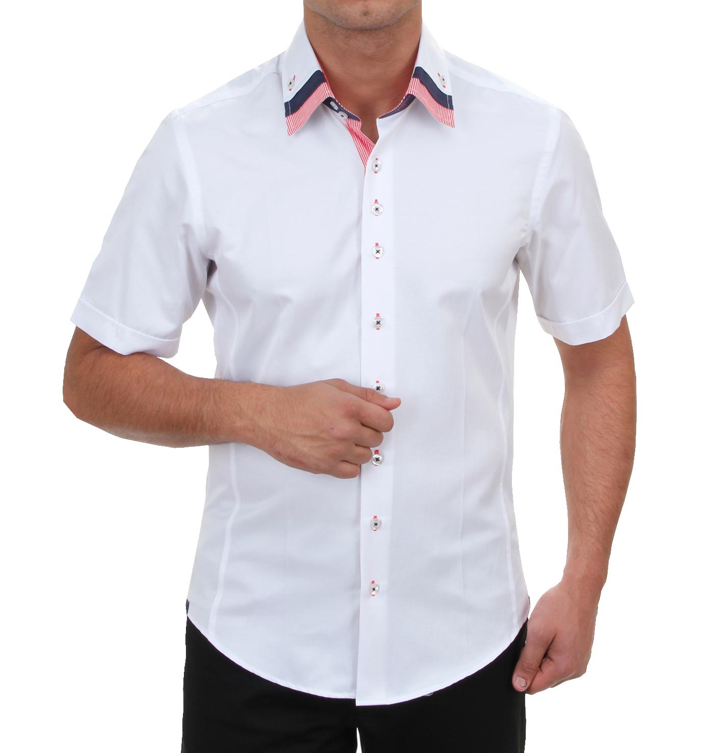 Hk Mandel Kreative Mode Fr Mnner Mens Designer Shirt Slim Fit