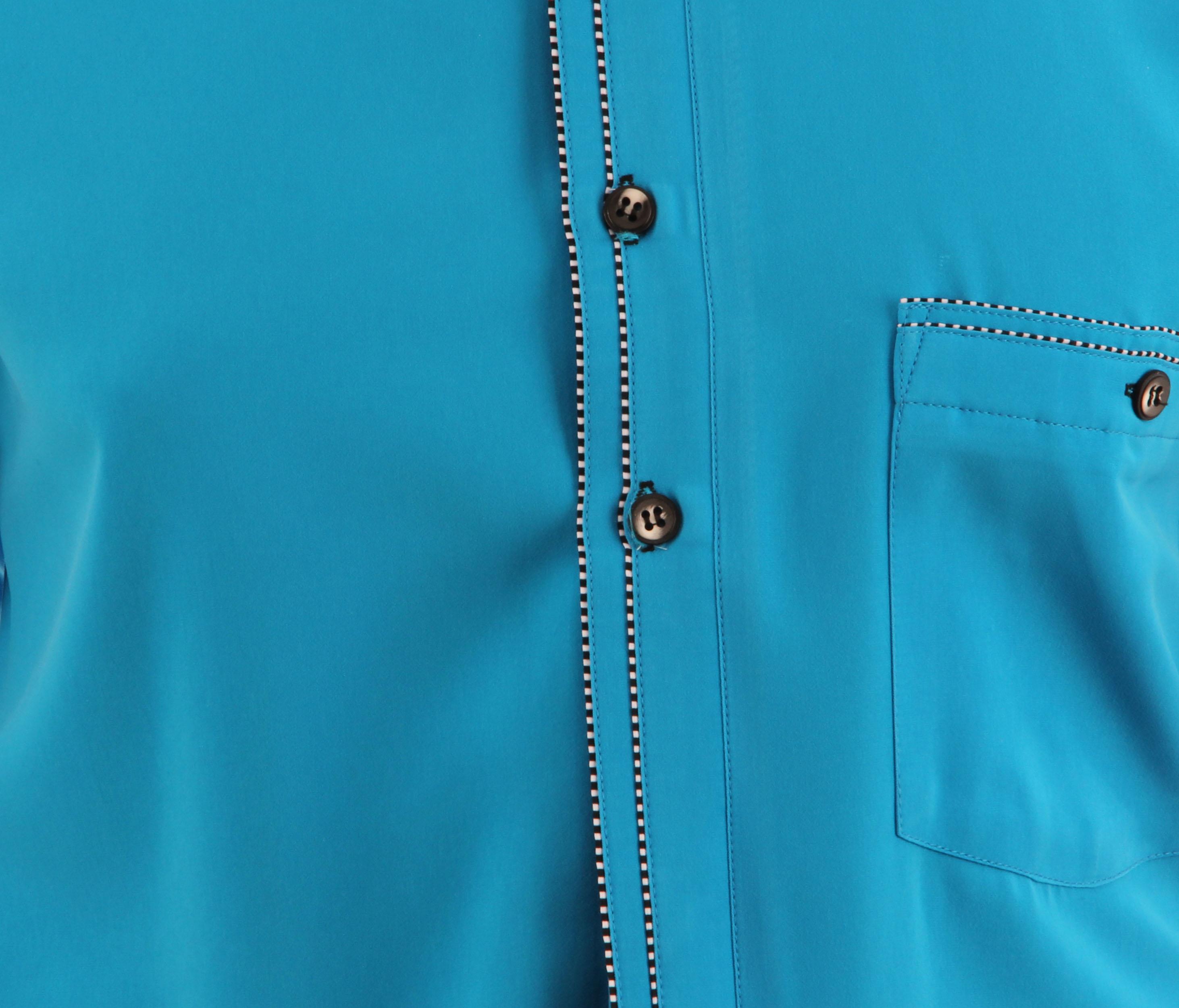 h k mandel kreative mode f r m nner designer hemd in cyan farbe besonderes hemd. Black Bedroom Furniture Sets. Home Design Ideas
