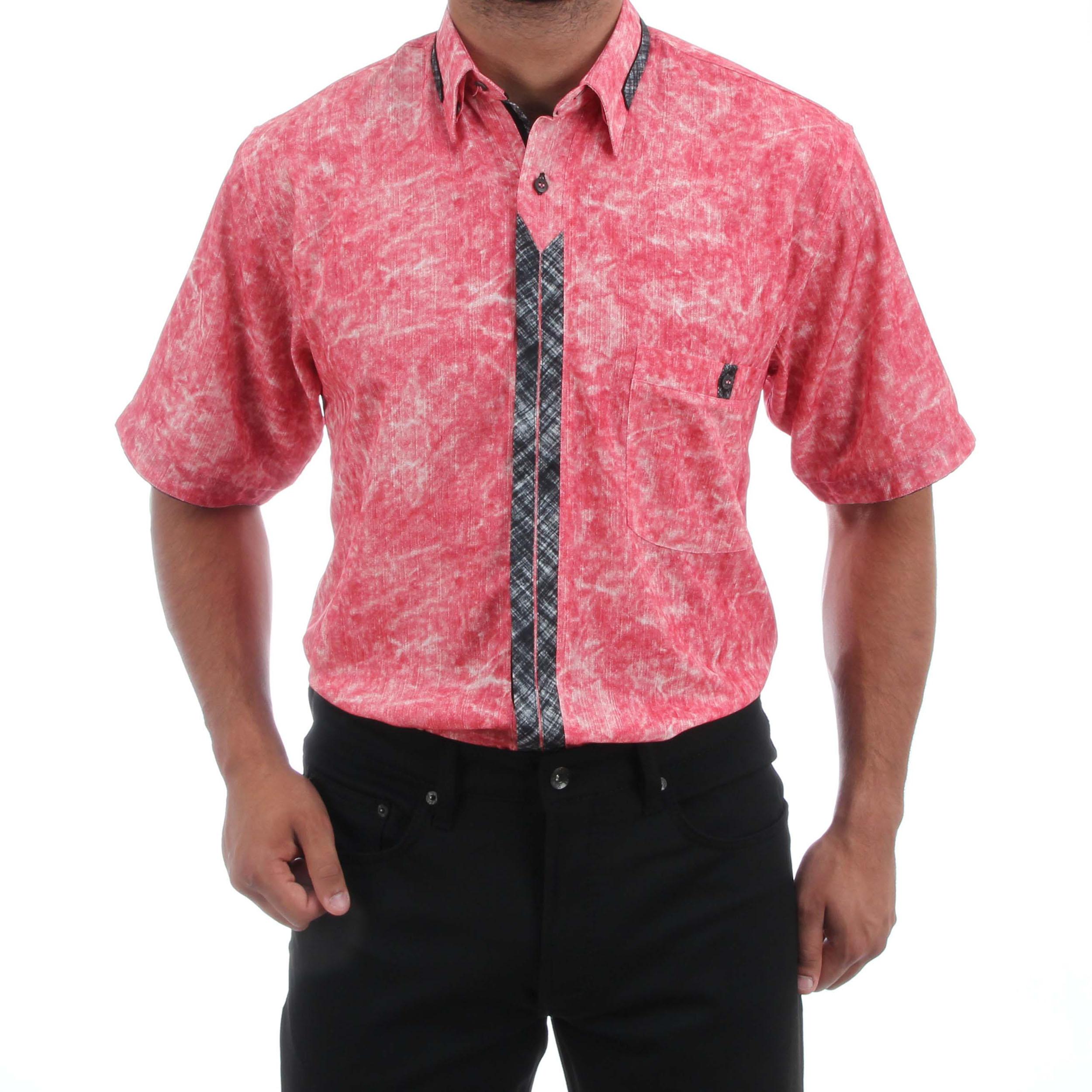 H.K. Mandel Kreative Mode für Männer - Modisches Casual Hemd in Rosé ... 0e847cd922