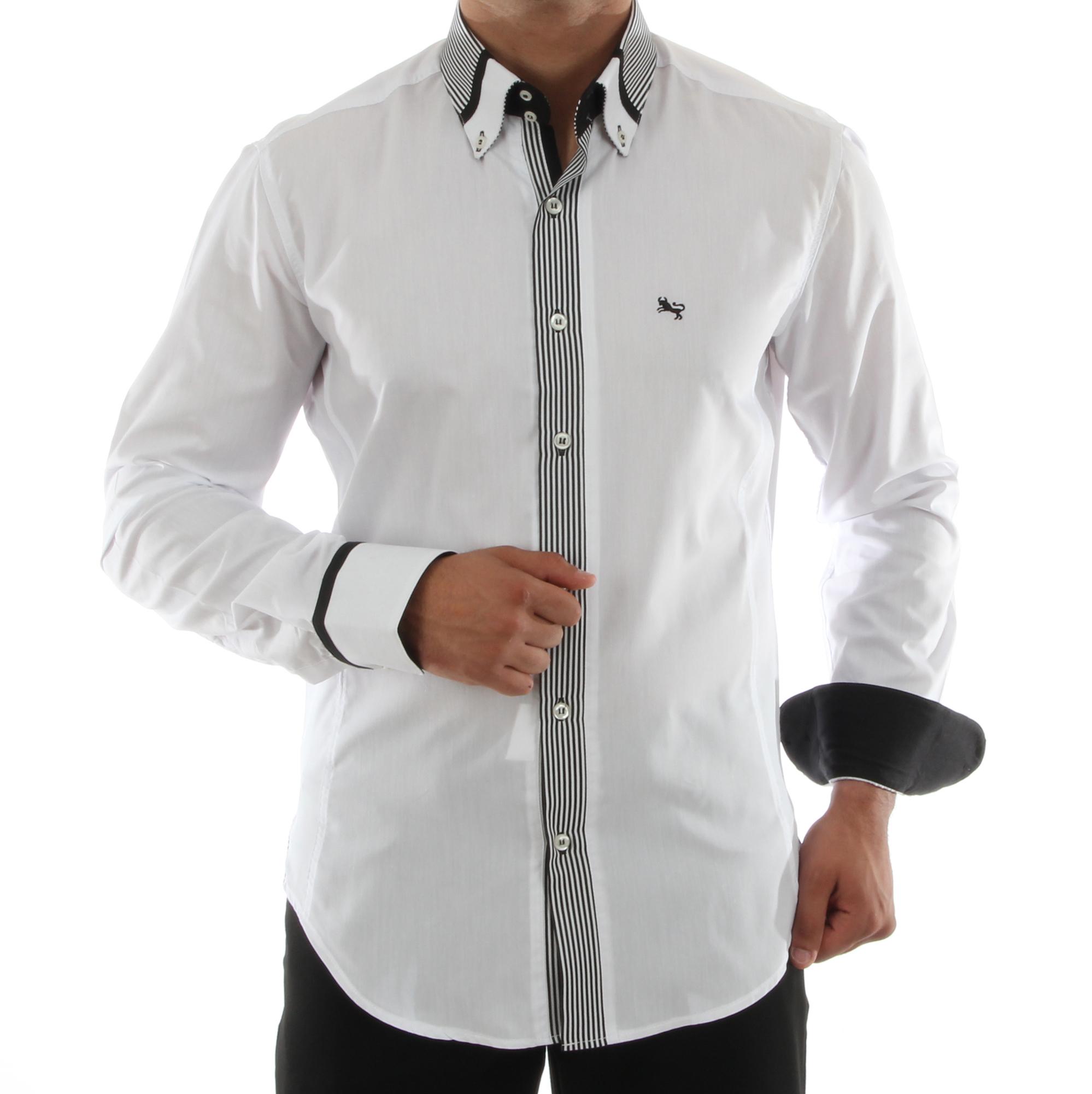 H.K. Mandel Kreative Mode für Männer - Freizeithemd Slim Fit hkmandel eedb03ad17