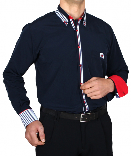 Shirt in navy blue