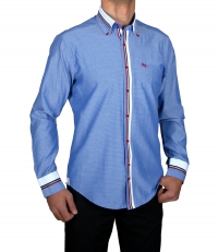 Clubwear Casual Shirt Pin Shirt